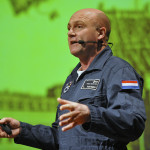 Astronaut Andre Kuipers op TU/e