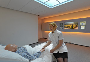 Opening van het nieuwe Hospital Healing Environments Lab van Philips medical systems op de High Tech Campus in Eindhoven